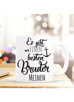 "Tasse Becher Anker /& Spruch /""Schwester Kindheit.../"" Geschenk Kaffeebecher ts562"