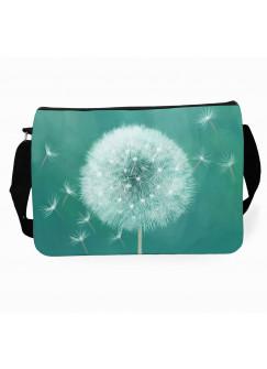 Schultertasche Schultasche mit Pusteblume Löwenzahn Umhängetasche dandelion tsu40