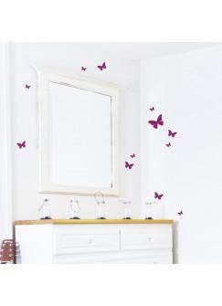 Wandtattoo Schmetterlinge 12er Set M1650