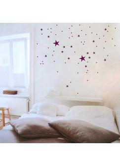 Wandtattoo Sternenhimmel Stern Sterne stars M302