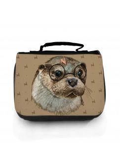 Waschtasche Waschbeutel Kulturbeutel Kosmetiktasche Reisewaschtasche Harry Otter mit Brille wt152