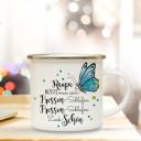 Tasse Schmetterling