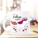 Kaffeetasse Einhorn