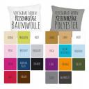 Farbtabelle Kissen  deinewandkunst