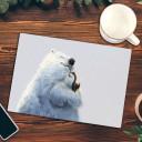 Früstücksbrett Eisbär