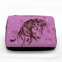 Gefüllte Federtasche Wildpferd Pferd mit Wunschnamen fm030 Filled pencil case wild horse horses with desired name fm030
