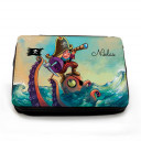 Gefüllte Federtasche Pirat und Octopus mit Wunschnamen filled pencil case pirate and octopus with custom name fm059