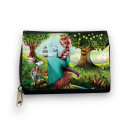 Geldbörse Prinzessin im Zauberwald mit Namen gk065 Wallet princess in magic forest with desired name gk065