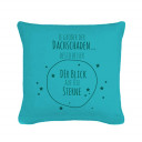Kissen mit Sternen Spruch Zitat Pillow with Stars Saying Qoute