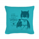 "Kissen mit Spruch Sei immer du selbst mit Superheld Pillow with saying ""always be yourself"" with superhero k23"