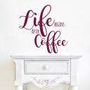 Kaffee-spruch-wandtattoo
