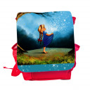 Kinderrucksack Märchen Sterntaler Mädchen im Wald mit Wunschnamen kids backpack fairy tale star money girl in forest with custom name kgn046