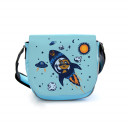 Kindergartentasche Kindertasche Tasche Waschbär im Weltraum mit Wunschnamen Kindergarten bag children bag raccoo in outer space with desired name kgt07