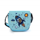 Kindergartentasche Kindertasche Tasche Waschbär im Weltraum mit Wunschnamen Kindergarten bag children bag raccoon in outer space with desired name kgt07