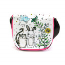 Kindergartentasche Kindertasche Tasche Beste Freunde Katze und Hase mit Wunschnamen kgt13 Kindergarten Bag children bag bag best friends cat and bunny with desired name kgt13