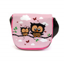 Kindergartentasche Kindertasche Tasche Eulen Eulchen auf Zweig mit Wunschnamen kgt15 Kindergarten Bag children bag bag owls little owl on branch with desired name kgt15