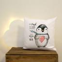 Kissen pinguin
