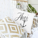 Kissen Dekokissen Sofakissen Maritim mit Anker und Spruch Ahoi inklusive Füllung Throw pillow decor pillow maritime with anchor and quote saying ahoi including filling ks55_H.jpg