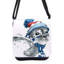 Tasche Kindertasche Handtasche Schultasche Schultertasche Robbe mit Name kt126 Bag children bag handbag satchel shoulder bag seal with name kt126