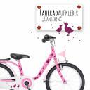 Fahrrad Aufkleber Gans