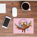 Mousepad mouse pad owl music with headphones and dots Mousepad mouse pad owl music with headphones and dots mp21_H.jpg