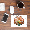 Mousepad Mouse Pad Mausunterlage Meerjungfrau mit Muscheln und Punkten Mousepad mouse pad with mermaid clams and dots mp25_H.jpg