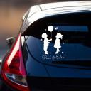 Autoaufkleber Kinder
