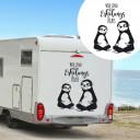 Autosticker Caravan