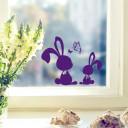 Wandtattoo Kaninchen