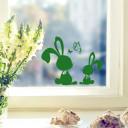 Fensterbild Kaninchen