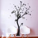 eulenbaum wandtattoo