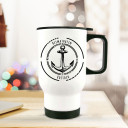 Thermobecher Thermotasse Thermosflasche Becher Tasse Kaffeebecher Anker mit Kompass und Spruch Heimathafen Rostock thermo cup thermal mug cup mug anchor with compass and quote saying home port tb068.jpg