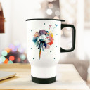 Thermobecher Thermotasse Thermosflasche Becher Tasse Kaffeebecher Pusteblume Blume Löwenzahn aquarell bunt thermo cup thermal mug cup mug dandelion watercolor colorful tb070.jpg