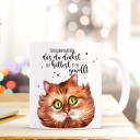 Tasse Becher Kaffeetasse Kaffeebecher Kindertasse Kinderbecher Kater Katzentasse Katze mit Spruch Zitat Ich kann machen das du denkst du hättest es so gewollt cup mug children cup children mug coffee cup coffee mug with cat and quote saying I can make you