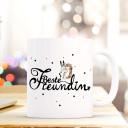 Becher Tasse Kaffeetasse Kaffeebecher Maritim mit Anker und Spruch Ahoi RostBecher Tasse Kaffeetasse Kaffeebecher mit Spruch Beste Freundin mit Hase Igel und Punkten Cup mug quote saying best girlfriend with headgehog bunny rabbit and dots ts419_H.jpg