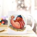 Tasse Becher Kaffeetasse Kaffeebecher Maritim mit Kapitän Seemann und Anker Tattoo Cup mug coffee cup coffee mug maritime with seaman and anchor tattoo ts441_H.jpg