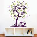 wanddeko-eulenbaum