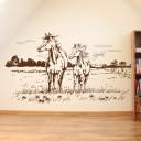 wandbild-pferdekoppel-pferd
