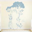 wandgestalltung-savanne-kinderzimmer