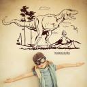 Wandtattoo-Dinosaurier-T-Rex