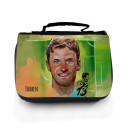Waschtasche Waschbeutel Kulturbeutel Kosmetiktasche Reisewaschtasche Fussball Fussballer Müller mit Namen wt105 Washbag toilet bag sponge bag cosmetics bag travel washbag football soccer player Müller with name wt105
