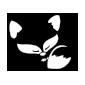 Fuchs Wandtattoo